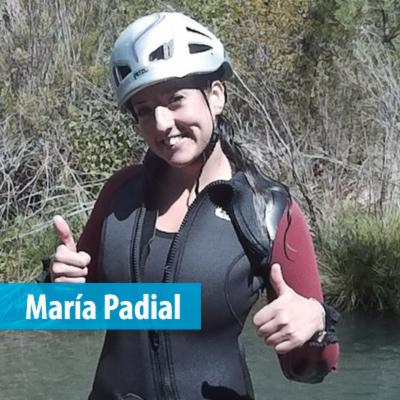 María Padial - Animadora de eventos en Nos Vamos de Aventura