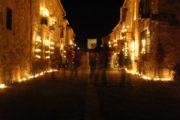 Senderismo nocturno en Pedraza